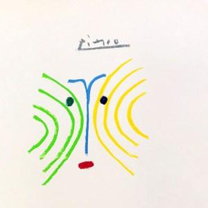Pablo Picasso Lithograph 97, The Pythia