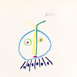 Pablo Picasso Lithograph 121, The Child Girl, 1968