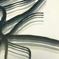 Pol Bury lithograph DM08178b  Derriere le miroir 1969, Abstract Composition