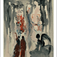 Salvador Dali, Paradise 13, Woodcut, Divine Comedy