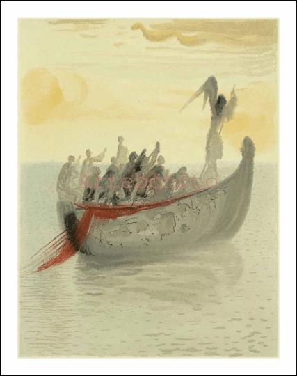 Salvador Dali, Purgatory 2, Woodcut, Divine Comedy