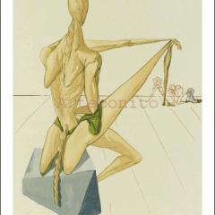 Salvador Dali, Hell 5, Woodcut, Divine Comedy