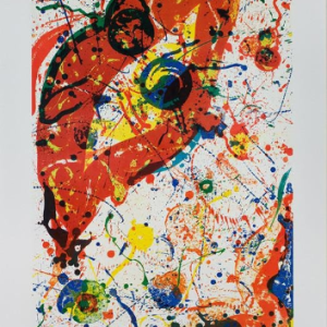 "Sam Francis 56""Poster Chicago International Art Expo 1980"