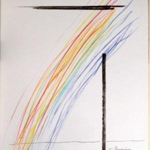 Man Ray Lithograph, Invasion de l'espace, XX siecle 1974