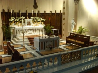 New Chancel Furnishings