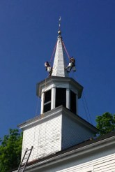 Rig-restore-steeple