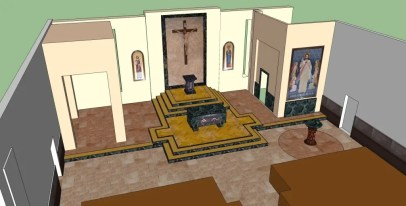 St Mark's Church Rendering