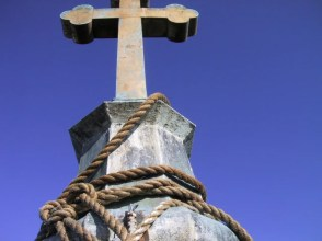 crucifix close up