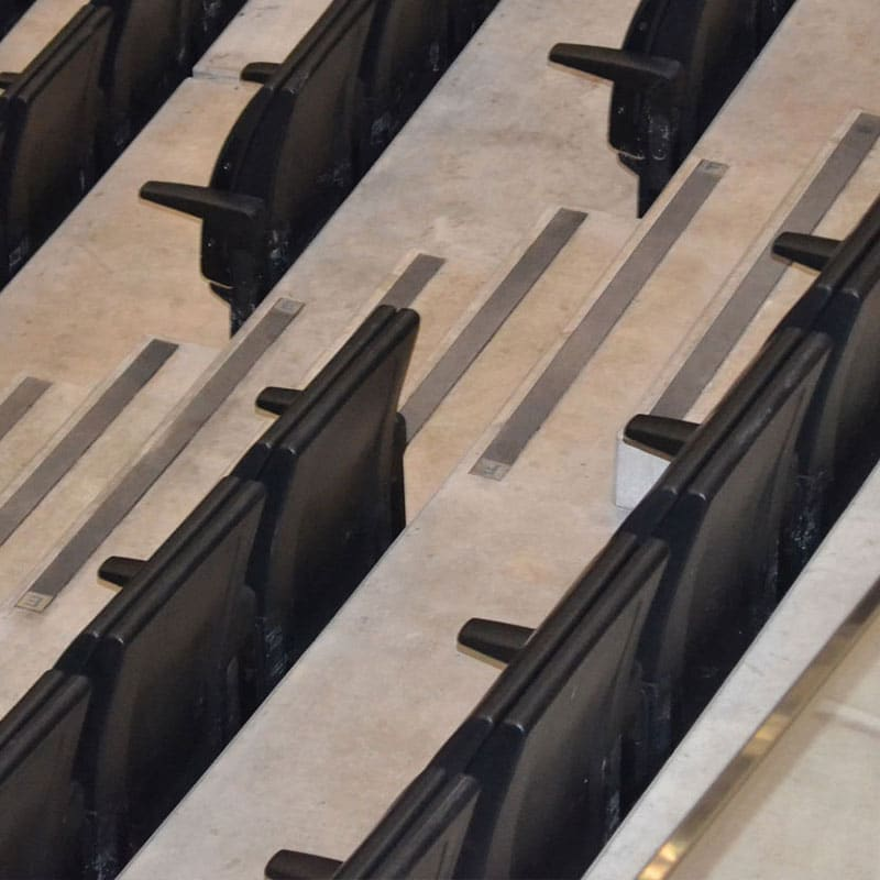 Stepline Carborundum anti-slip step inserts