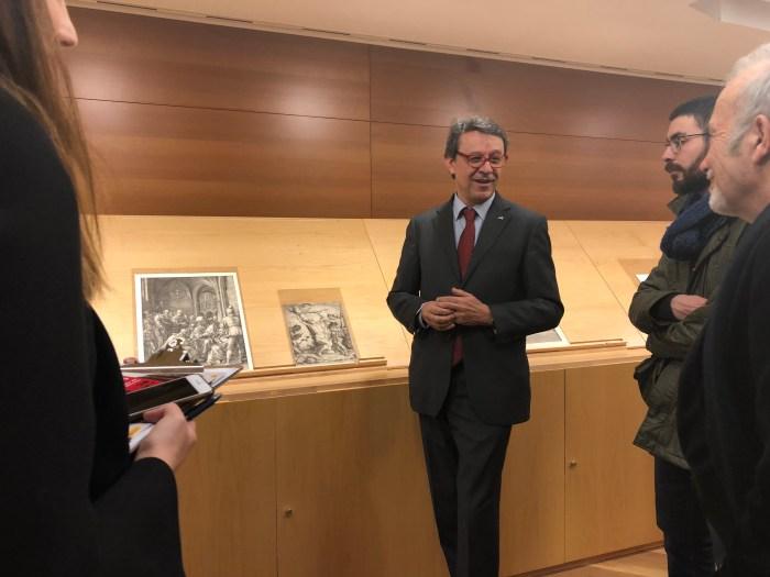 Jose Manuel Matilla-Museo del Prado-Gabinetes Abiertos 2018