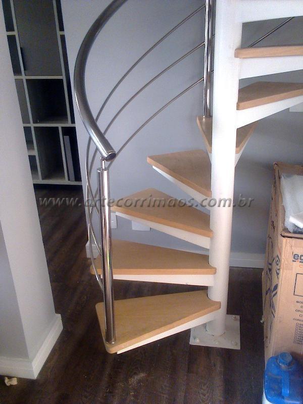 ltimos trabalhos de corrimos escadas em inox madeira e vidro