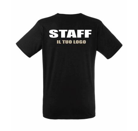 T-shirt Staff premium uomo/donna