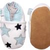 Dotty Fish Twinkle Hat & Shoe set scarpine e cappellino