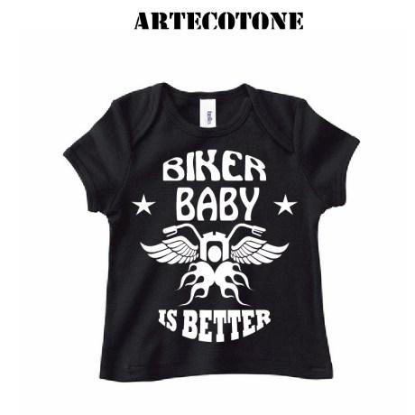 T-shirt baby biker