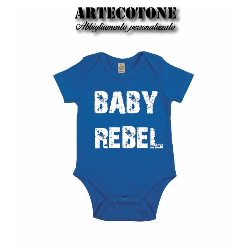Body Baby Rebel cotone organico