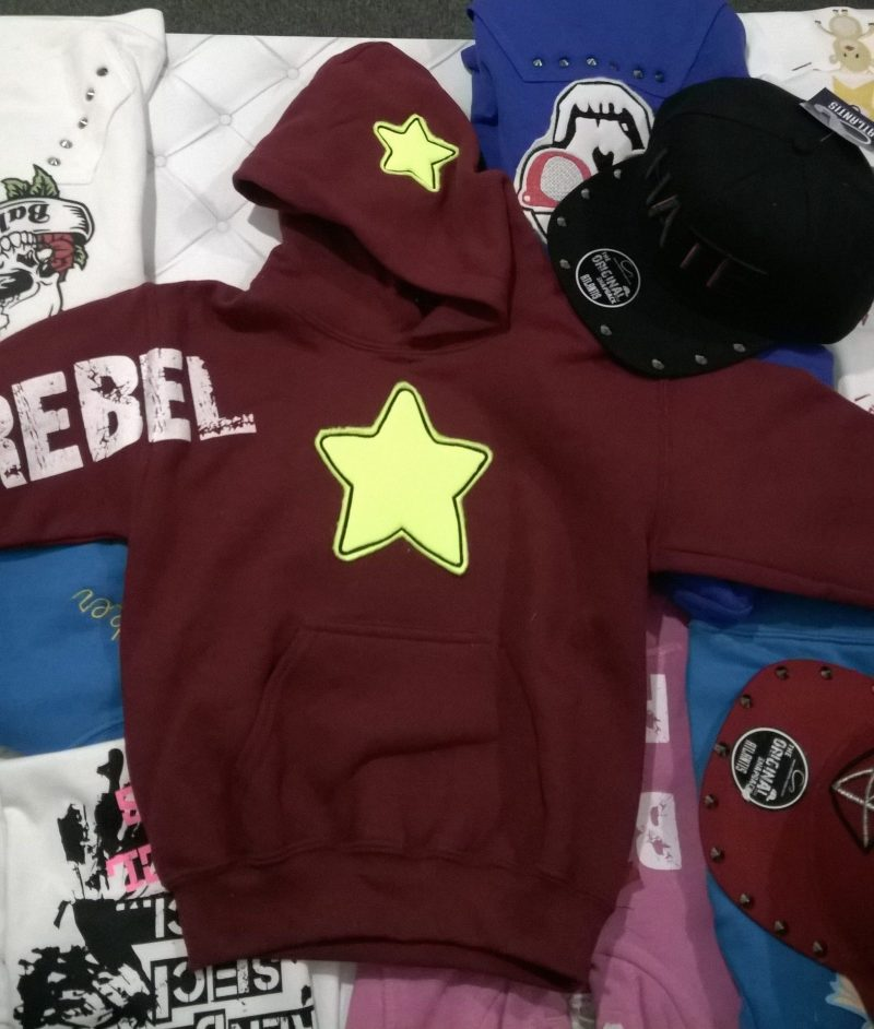 Felpa star light bimbo