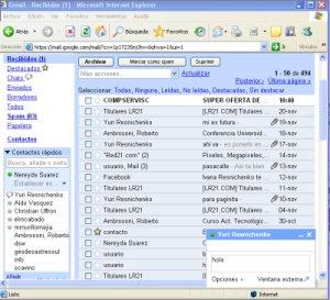 Chatear con Gmail