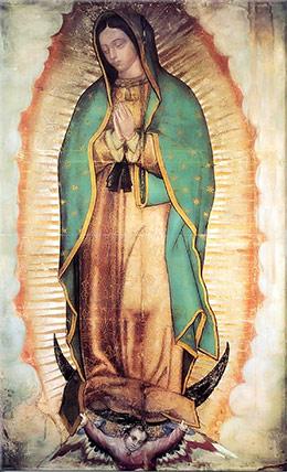 Oración a la Santa Virgen de Guadalupe por el cese de la Influenza