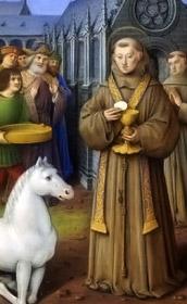 Milagro de la Hostia y el burrico