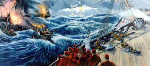 El Sueño de Don Bosco sobre la Iglesia y los Dos Pilares que la Sostienen