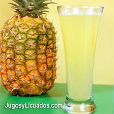 Agua de Piña, Refrescante y Semilaxante