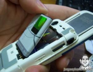 Quitar batería Nokia 5200