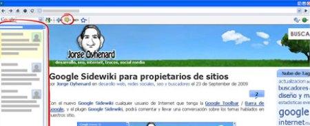 Google Sidewiki para Administradores