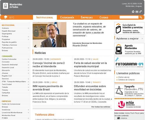 Montevideo estrena Web