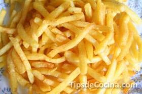 Sencilla forma de hacer papas fritas a la francesa