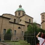 Il retro del Duomo o Basilica Ursiana