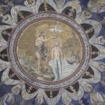 Il Battistero Neoniano - interno - mosaico sulla cupola