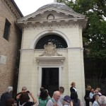 La tomba di Dante Alighieri - esterno