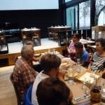 Il nostro gruppo al ristorante