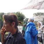 Alessandra, la nostra brava ed esperta guida