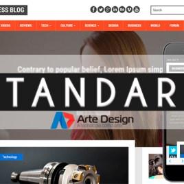 Plano Standard – Criação de site com CMS (Banco de Dados)