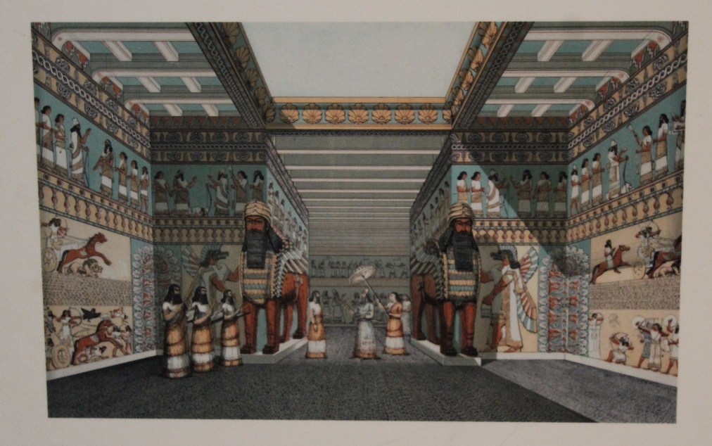 arteehistoriaviajandoporelmundo-ilustración Ana M Hermida en British Museum
