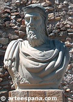 Estatua del general  Asdrúbal, fundador de Cartagena