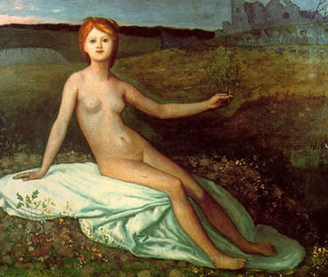 Puvis de Chavannes. Pintura simbolista