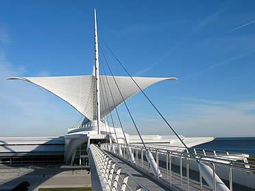 Museo de Arte de Milwaukee. Santiago Calatrava