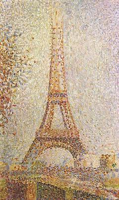 Georges Seurat: La Torre Eiffel
