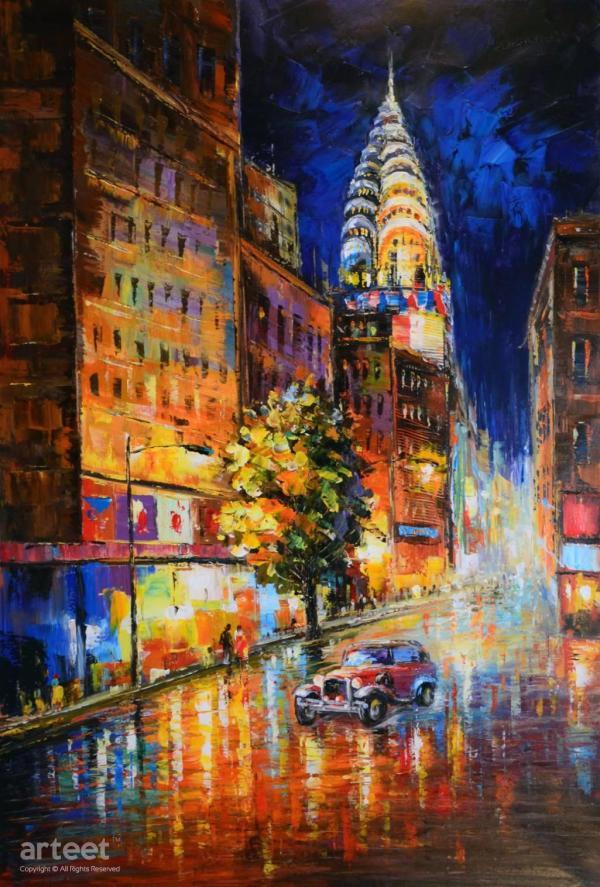 York Heartbeat Art Paintings Online