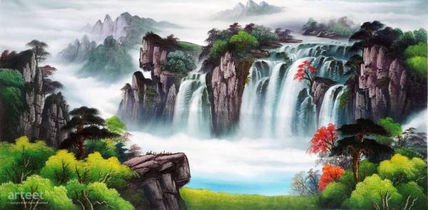 Splendor Of Spring Art Paintings Online
