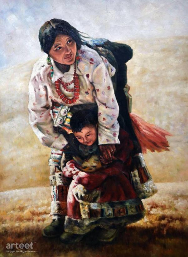Nomads Art Paintings Online