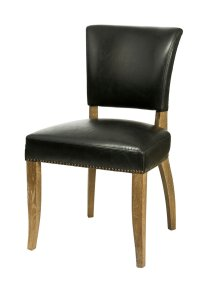 Dining / Kitchen Chairs :: SL-002 Black Bicast Leather ...