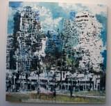 Tel Aviv, Philippe Cognée galerie Templon Paris
