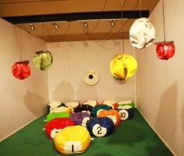 Florence d'Oléac- installation le salon vert -Jousse entreprise galerie Paris