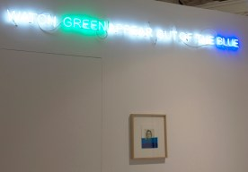 l'installation de Thu Van Tran à la galerie Meessen de Clercq