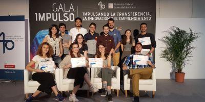 Artefactos doblemente premiado en la Gala Impulso de la Universidad de Alicante