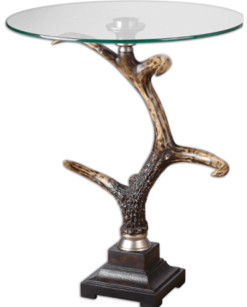 Stag-Horn,-Accent-Table-T