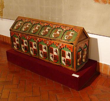 Sepulcro del Infante Alfonso, hijo de Sancho IV y María de Molina